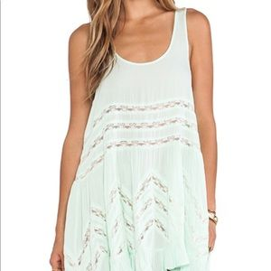 Free People Voile & Lace Slip